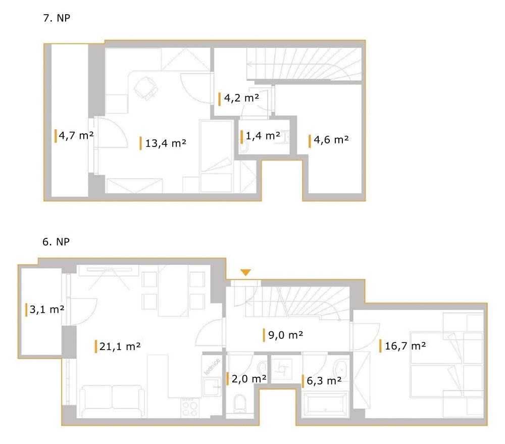 3+kk – Přadlácká 14, byt 13