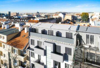 Byty na střeše města - projekt
