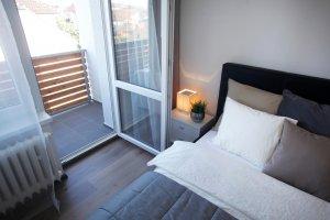 Bytový dům Záhumenice balkon