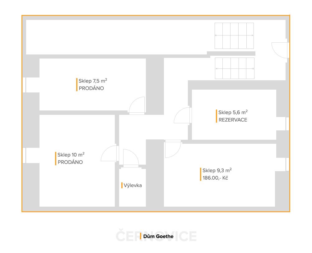Sklepy – Dům Goethe