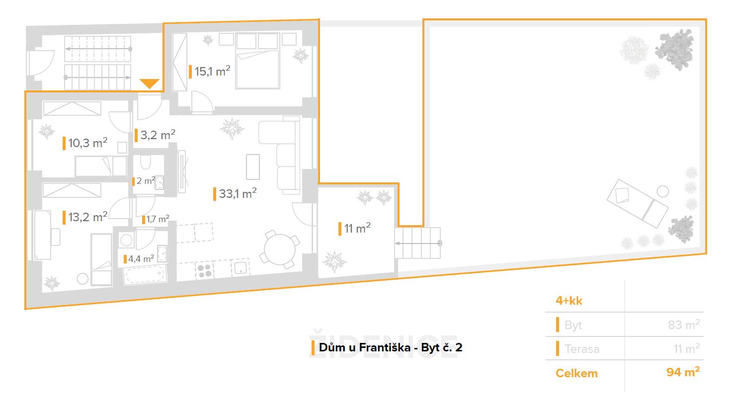 4+kk – Dům u Františka (2)