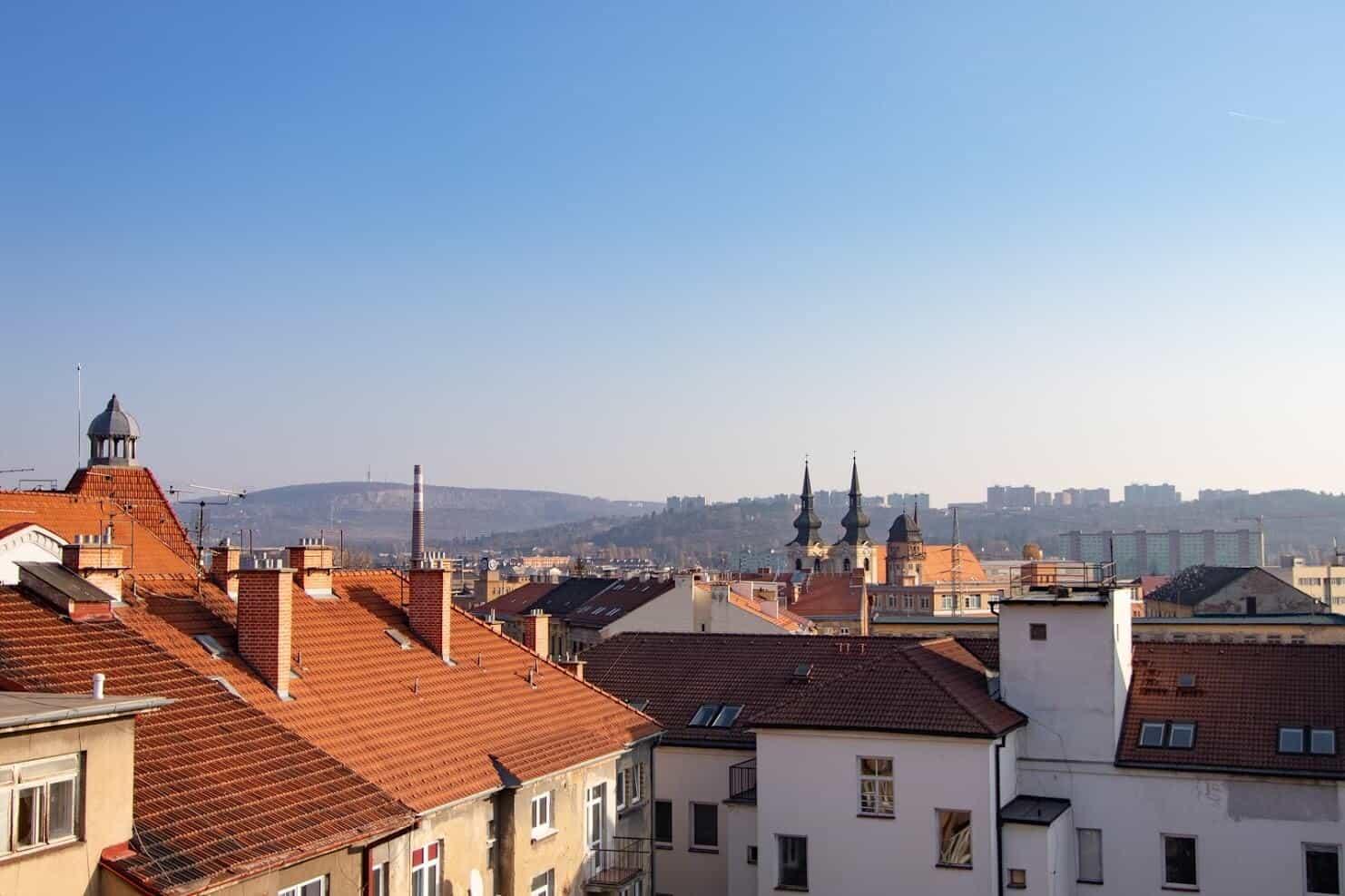 2+KK – Byty na střeše města, byt 15